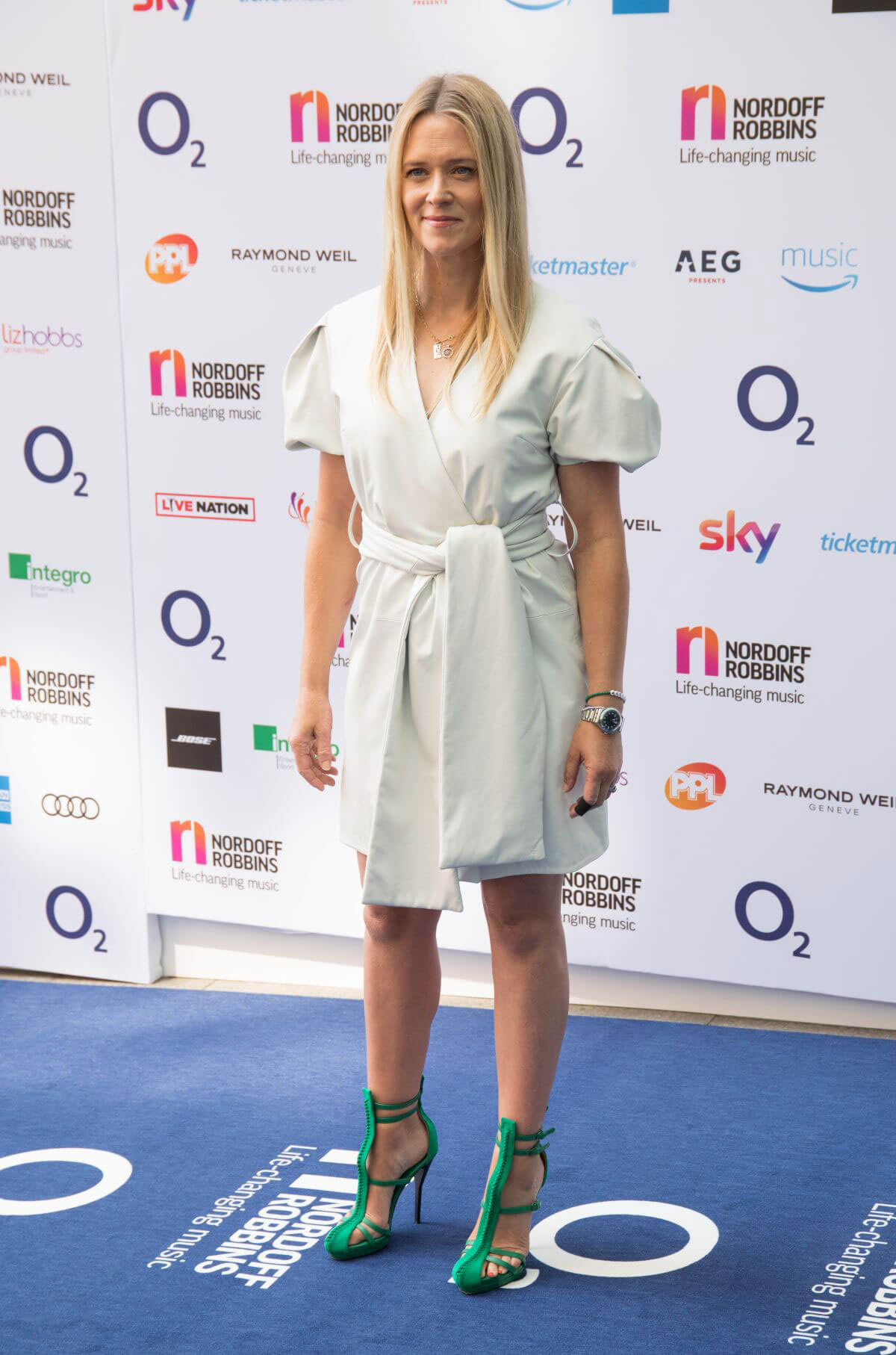 Edith Bowman at O2 Silver Clef Awards in London 2018/07/06 1