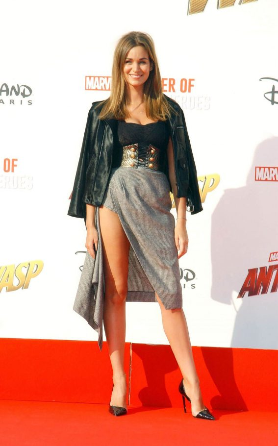 Elisa Bachir Bey at Ant-man and the Wasp Premiere in Paris 2018/04/17 1
