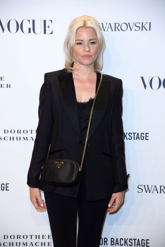 Elizabeth Banks at Vogue Fashion Party at Berlin Fashion Week 2018/07/06 1