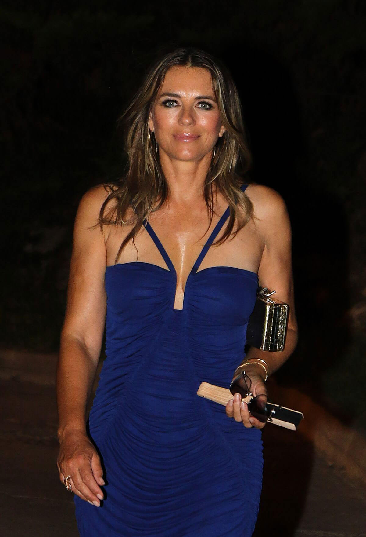 Elizabeth Hurley Night Out in Mallorca 2018/07/27 1