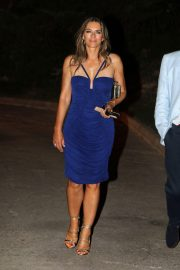 Elizabeth Hurley Night Out in Mallorca 2018/07/27 2