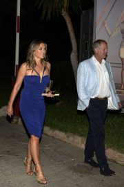 Elizabeth Hurley Night Out in Mallorca 2018/07/27 5