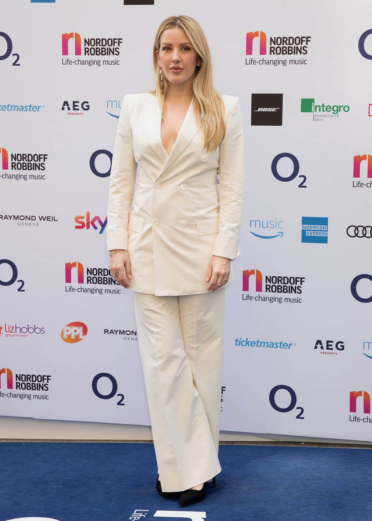Ellie Goulding at O2 Silver Clef Awards in London 2018/07/06 1