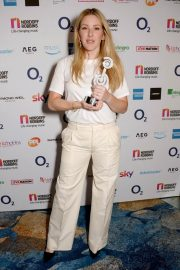 Ellie Goulding at O2 Silver Clef Awards in London 2018/07/06 4