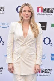 Ellie Goulding at O2 Silver Clef Awards in London 2018/07/06 16