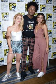 Emily Bett Rickards at Comic-con 2018 in San Diego 2018/07/21 1