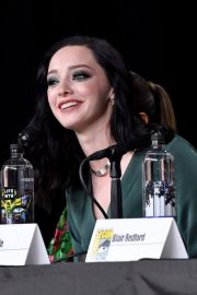 Emma Dumont at The Gifted Panel at Comic-con in San Diego 2018/07/21 2