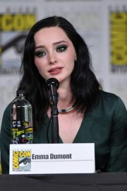 Emma Dumont at The Gifted Panel at Comic-con in San Diego 2018/07/21 3