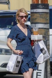 Emma Roberts Out for Lunch at Joan's on Third in Los Angeles 2018/07/14 9