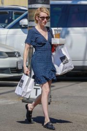 Emma Roberts Out for Lunch at Joan's on Third in Los Angeles 2018/07/14 11