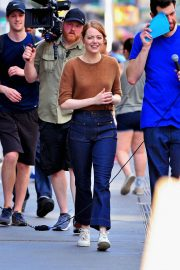 Emma Stone on The Set of Comedy in New York 2018/07/17 6