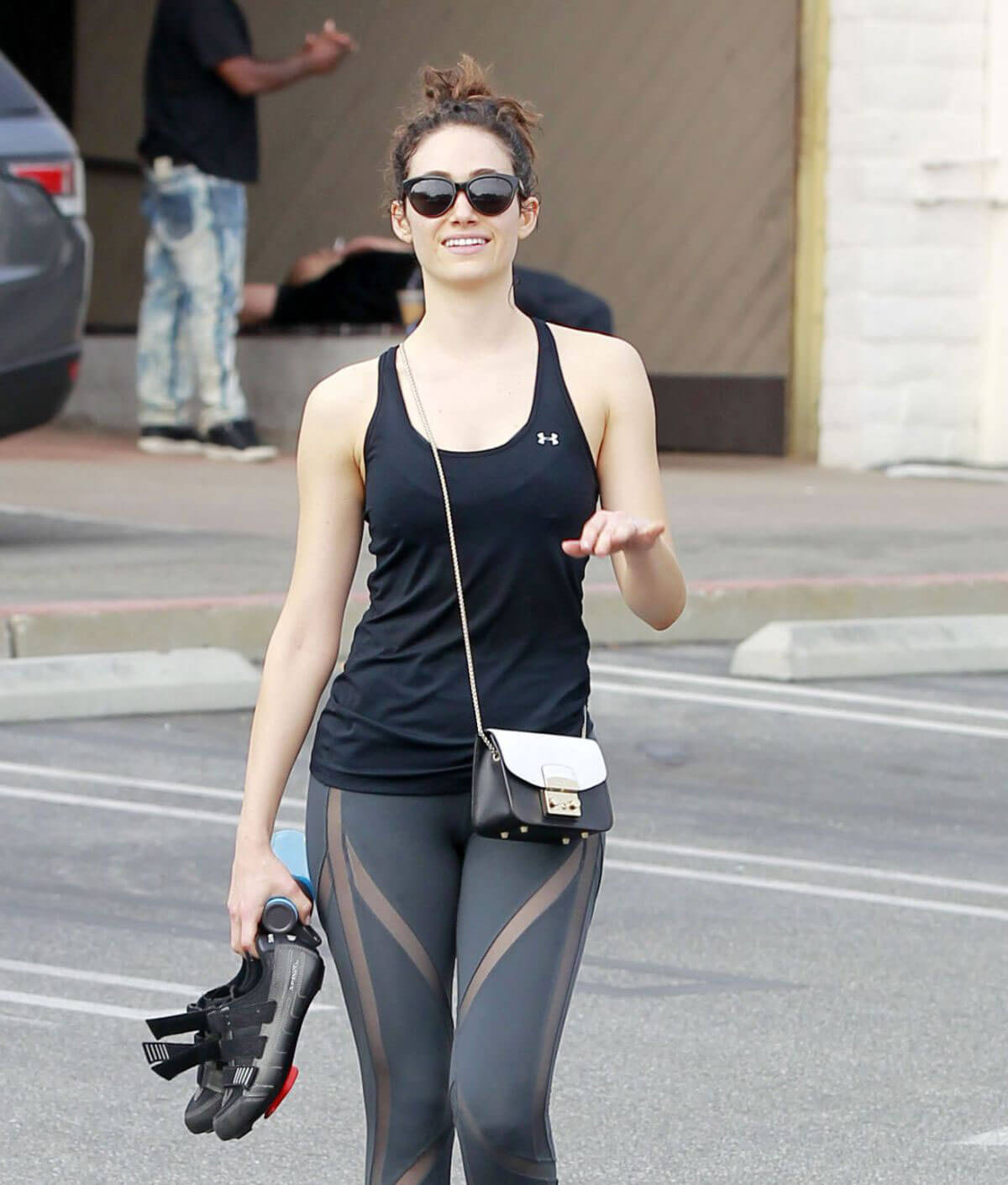 Emmy Rossum Leaves Soulcycle Gym in Brentwood 2018/05/23 1