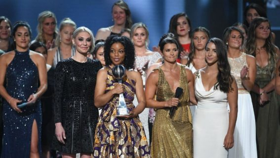 ESPY Brings Together The Courageous Victims Of Gymnasts Doctor's Abuse 1