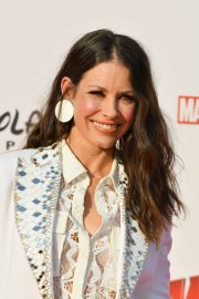 Evangeline Lilly at Ant-man and the Wasp Premiere in Paris 2018/04/17 6