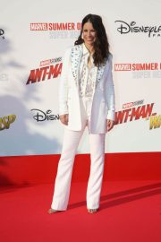 Evangeline Lilly at Ant-man and the Wasp Premiere in Paris 2018/04/17 13
