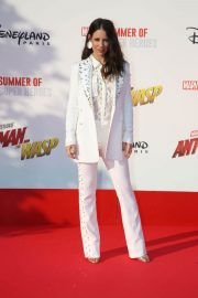 Evangeline Lilly at Ant-man and the Wasp Premiere in Paris 2018/04/17 15