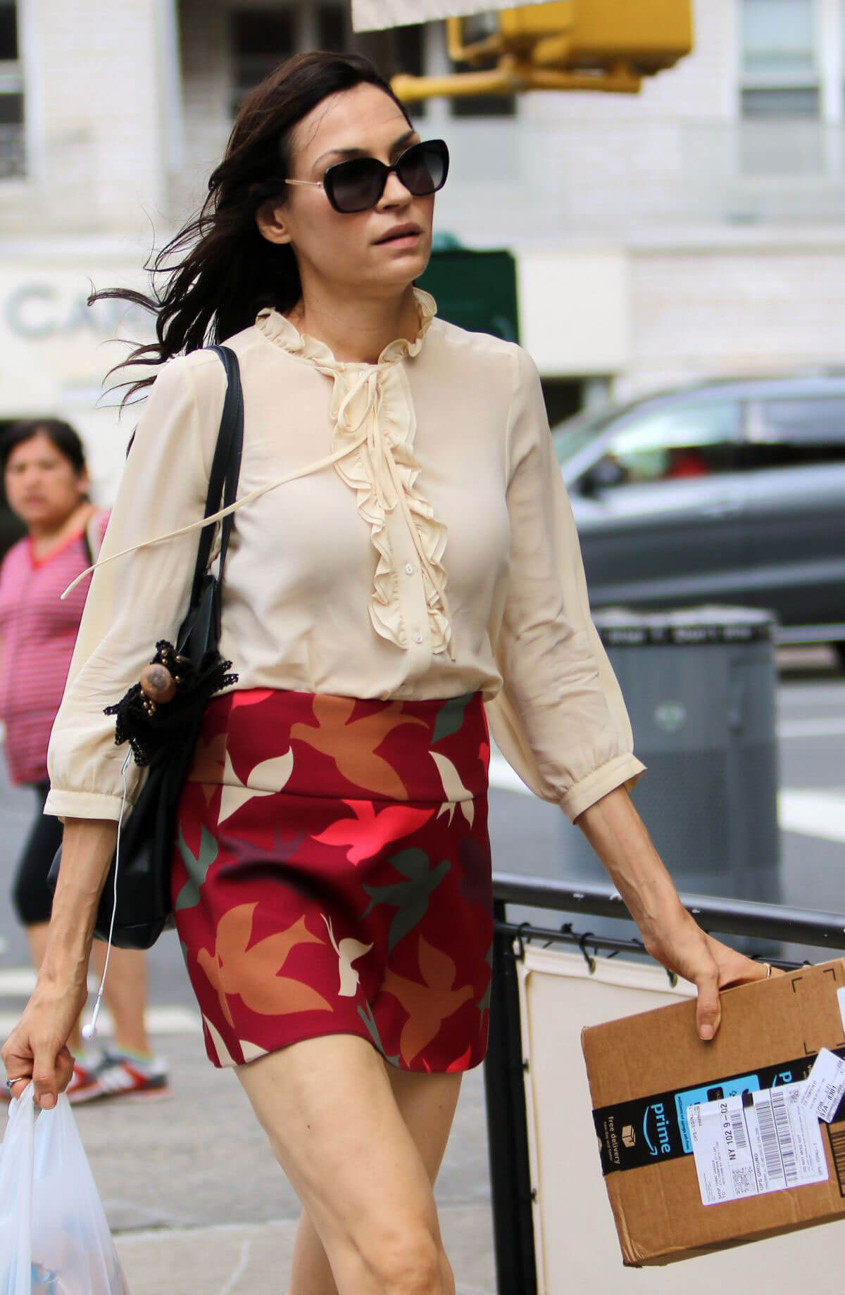 Famke Janssen Out and About in New York 2018/07/24 1
