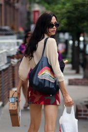 Famke Janssen Out and About in New York 2018/07/24 14