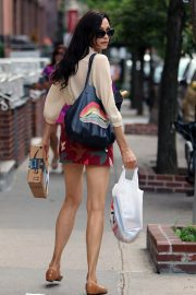 Famke Janssen Out and About in New York 2018/07/24 15