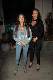 Farrah Abraham and Kate Neilson at Mastro's in Beverly Hills 2018/07/27 2