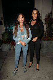 Farrah Abraham and Kate Neilson at Mastro's in Beverly Hills 2018/07/27 7