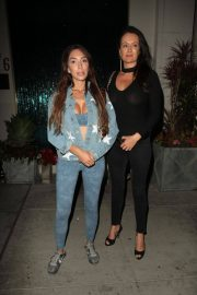 Farrah Abraham and Kate Neilson at Mastro's in Beverly Hills 2018/07/27 9