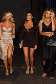 Ferne McCann, Danielle Armstrong and Jessica Wright at Sexy Fish in London 2018/07/28 8