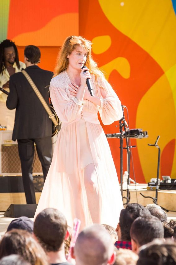 Florence Welch Performs at God Morning America Concert Series in Central Park in New York 2018/06/29 1