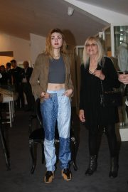 Frances Bean Cobain at An Exhibition of Some of Kurt's Personal Items in Newbridge 2018/07/17 1