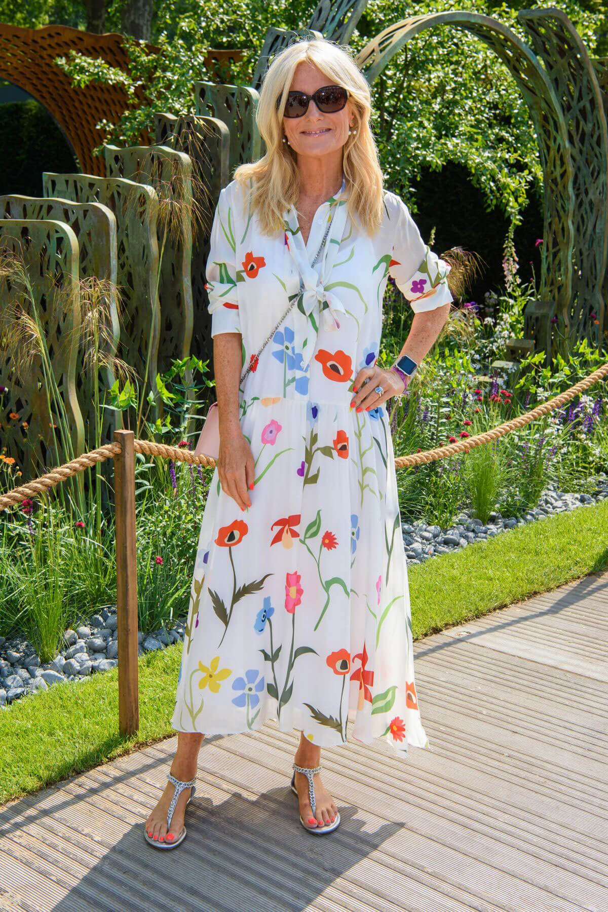 Gaby Roslin at Chelsea Flower Show in London 2018/05/21 1