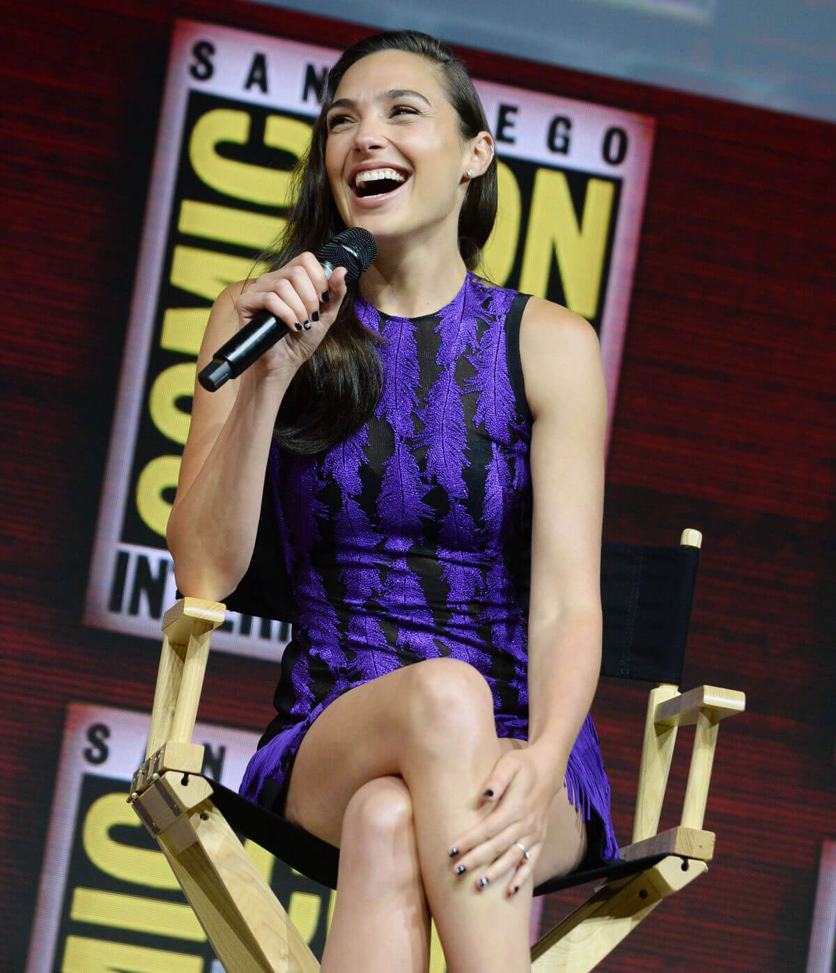 Gal Gadot Warner Bros Panel at Comic-Con 2018 in San Diego 2018/07/21 1