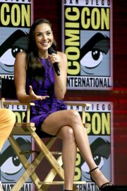 Gal Gadot Warner Bros Panel at Comic-Con 2018 in San Diego 2018/07/21 3