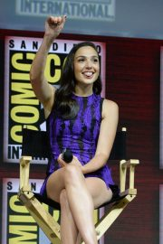 Gal Gadot Warner Bros Panel at Comic-Con 2018 in San Diego 2018/07/21 4