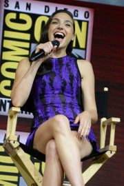 Gal Gadot Warner Bros Panel at Comic-Con 2018 in San Diego 2018/07/21 5