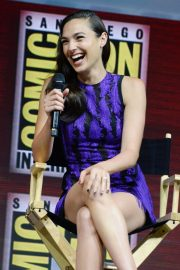 Gal Gadot Warner Bros Panel at Comic-Con 2018 in San Diego 2018/07/21 6