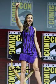 Gal Gadot Warner Bros Panel at Comic-Con 2018 in San Diego 2018/07/21 10