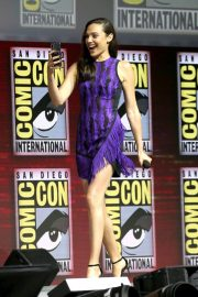 Gal Gadot Warner Bros Panel at Comic-Con 2018 in San Diego 2018/07/21 12