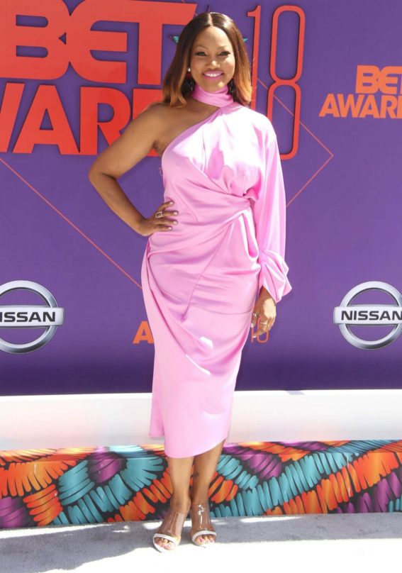 Garcelle Beauvais at BET Awards in Los Angeles 2018/06/24 1