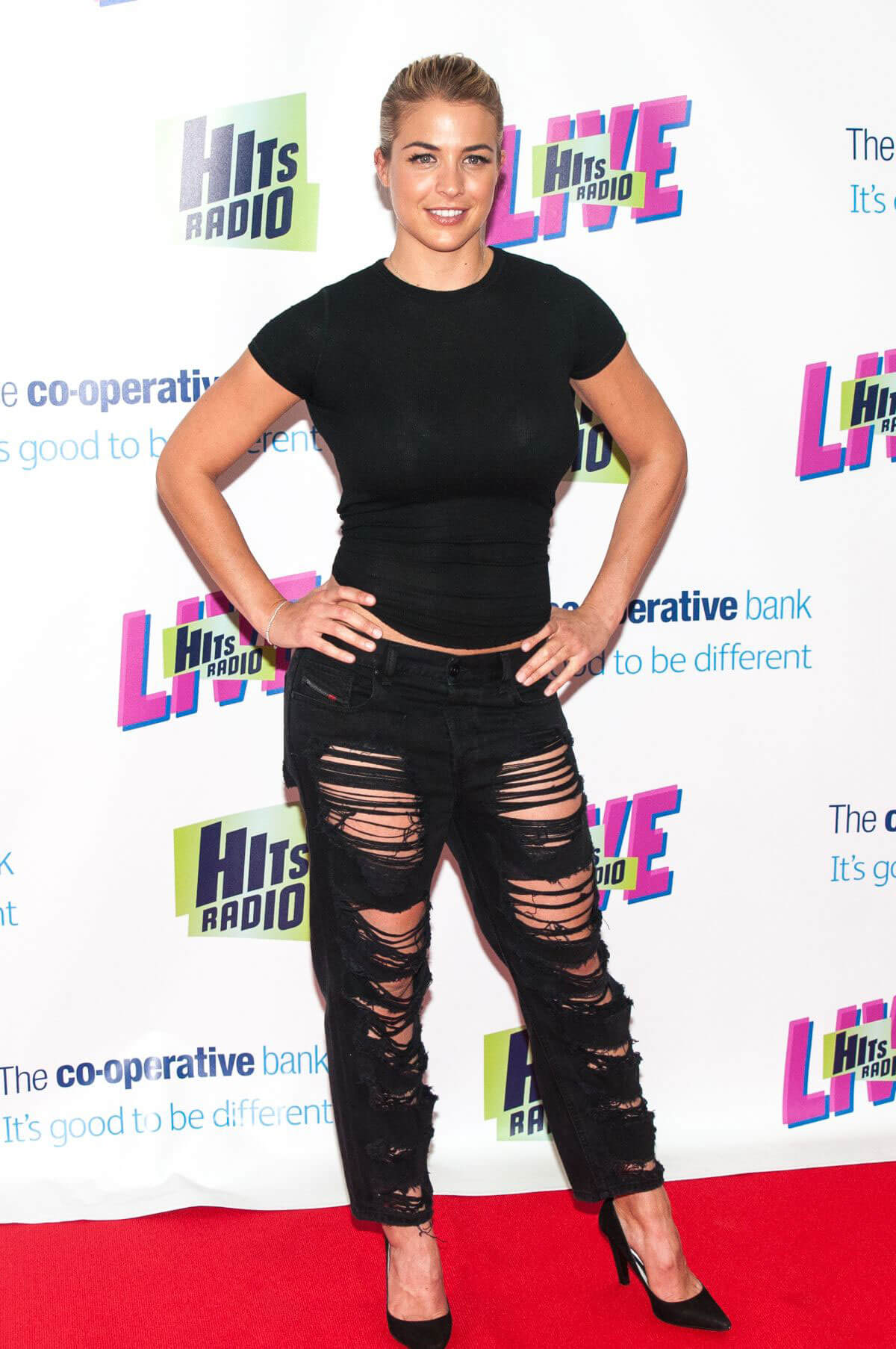 Gemma Atkinson at Hits Radio Live at Manchester Arena 2018/07/14 1