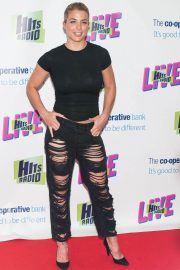 Gemma Atkinson at Hits Radio Live at Manchester Arena 2018/07/14 4