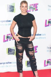 Gemma Atkinson at Hits Radio Live at Manchester Arena 2018/07/14 5