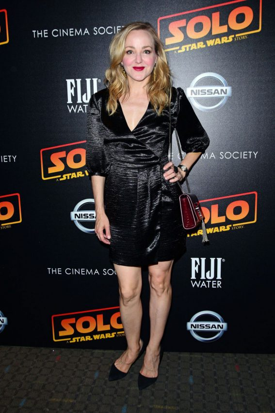 Geneva Carr at Solo: A Star Wars Story Premiere in New York 2018/05/21 1