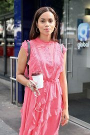 Georgina Campbell Arrives at Global Radio in London 2018/06/27 4