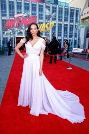 Hannah John Kamen at Ant-man and the Wasp Premiere in Los Angeles 2018/06/25 3