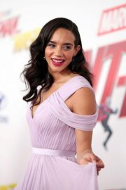 Hannah John Kamen at Ant-man and the Wasp Premiere in Los Angeles 2018/06/25 5