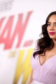 Hannah John Kamen at Ant-man and the Wasp Premiere in Los Angeles 2018/06/25 6