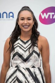 Heather Watson at WTA Tennis on the Thames Evening Reception in London 2018/06/28 1