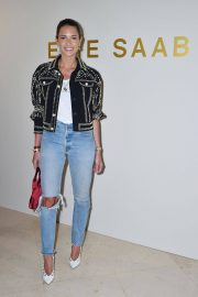 Helena Bordon at Elie Saab Show at Paris Fashion Week 2018/03/03 7