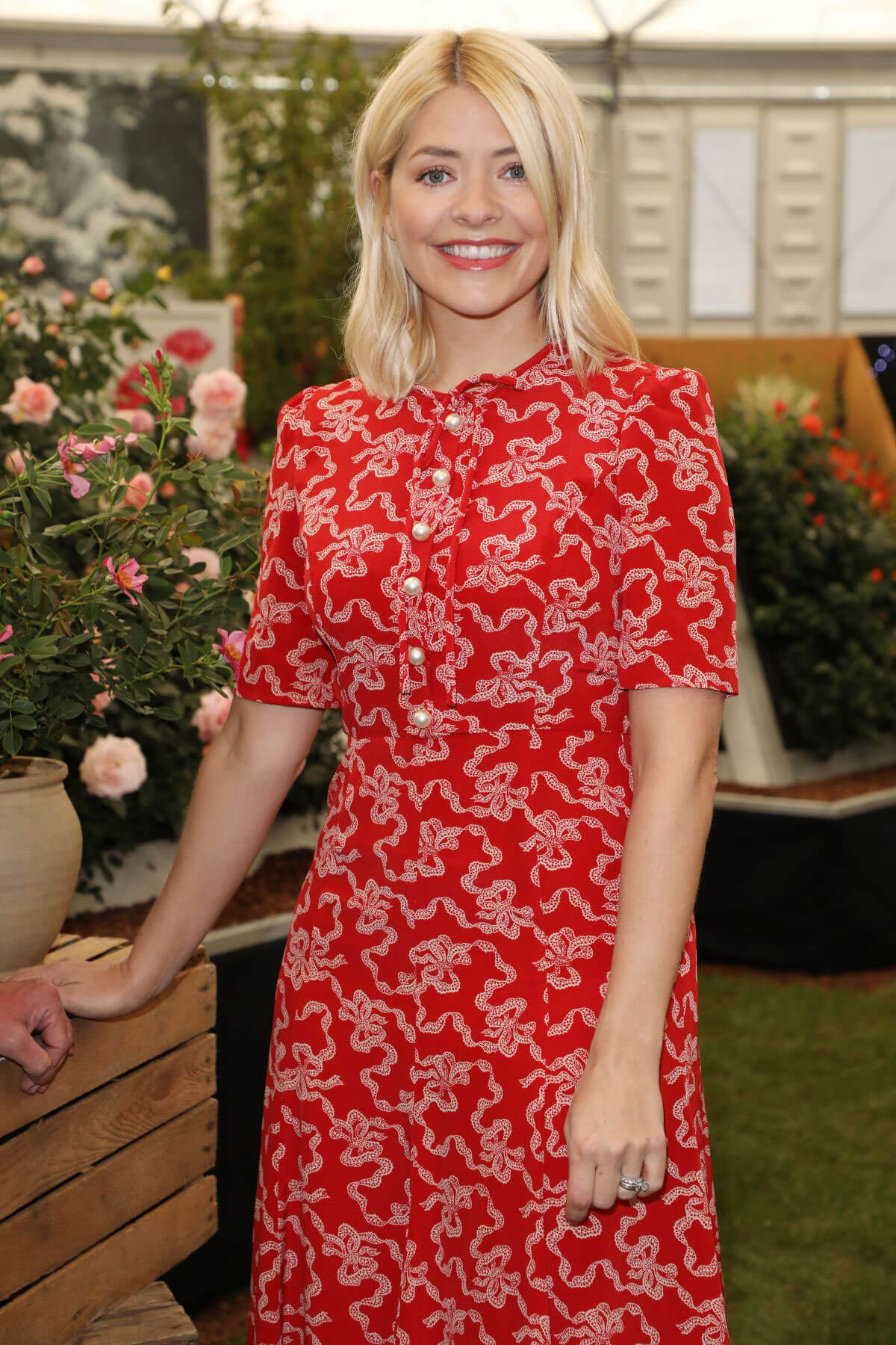 Holly Willoughby Chelsea Flower Show in London 2018/05/21 1