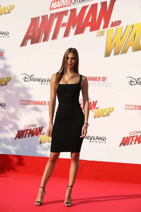 Iris Mittenaere at Ant-man and the Wasp Premiere in Paris 2018/04/17 1